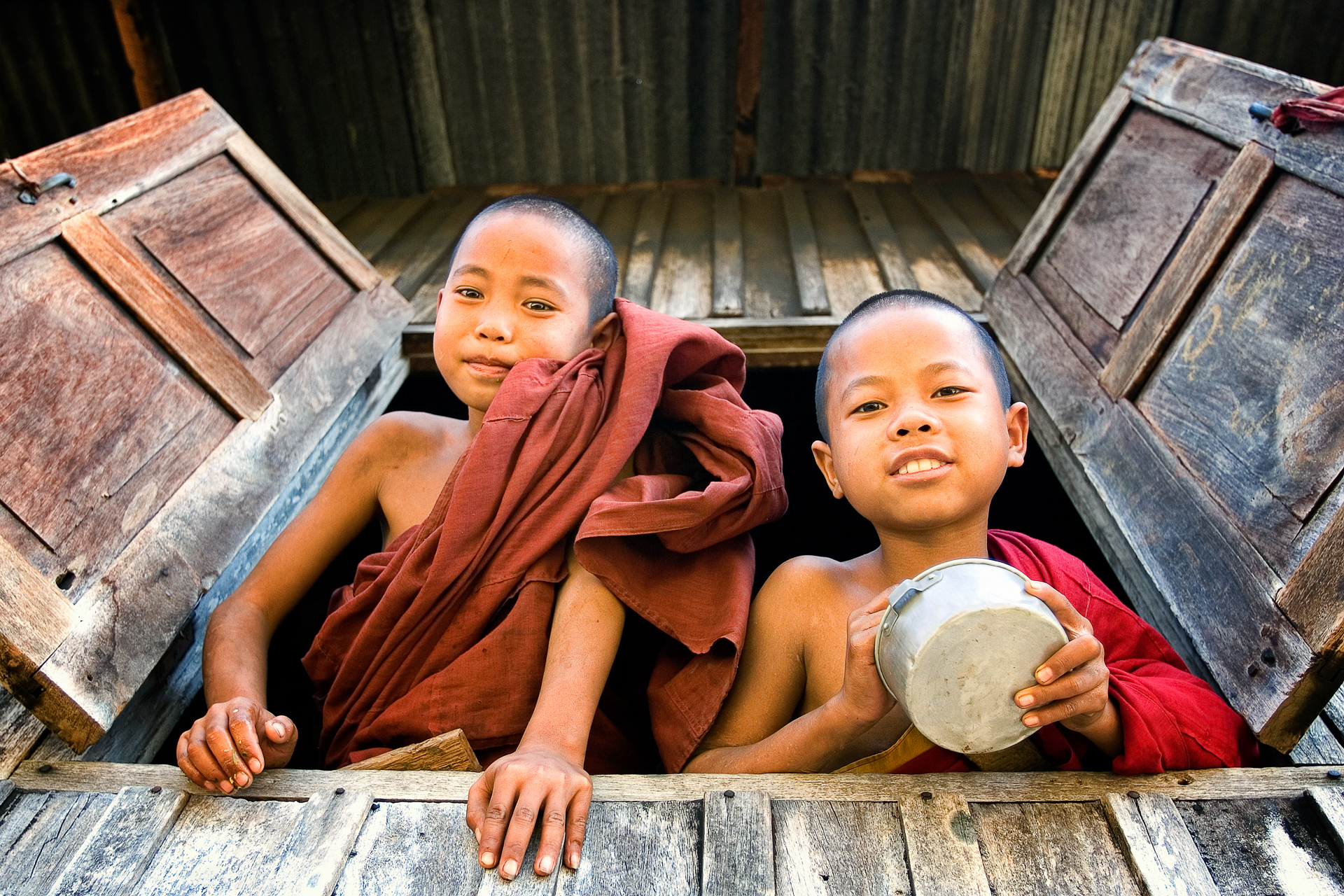 Novice Monks, Hsipaw.
