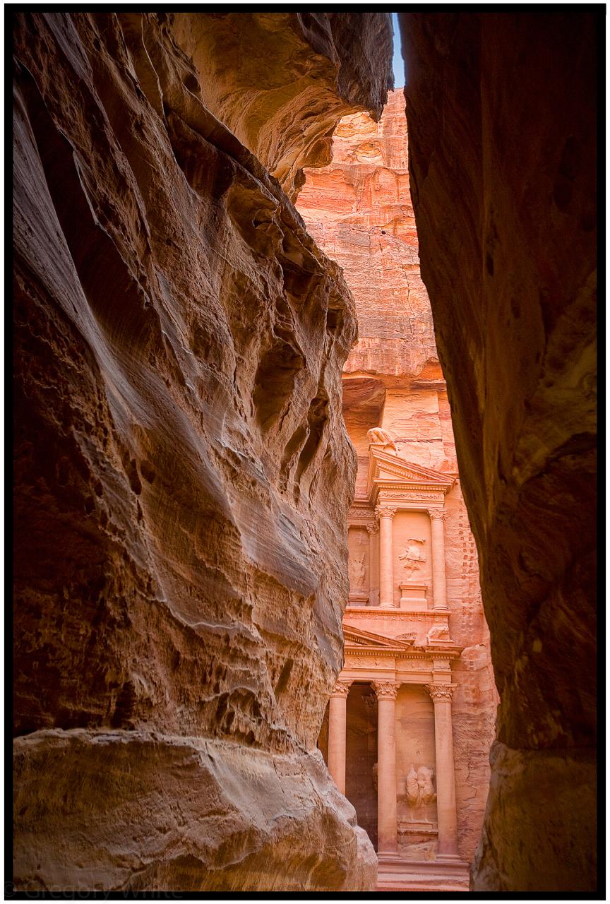 The Treasury at Petra, Jordan