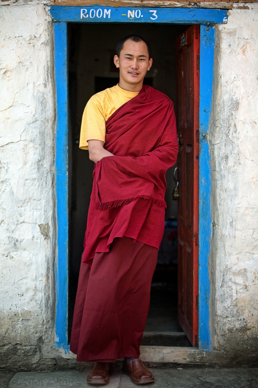 Young monk, Kokbeni.